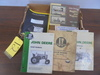 Box Of JD Shop Manuals & Parts Catalogs