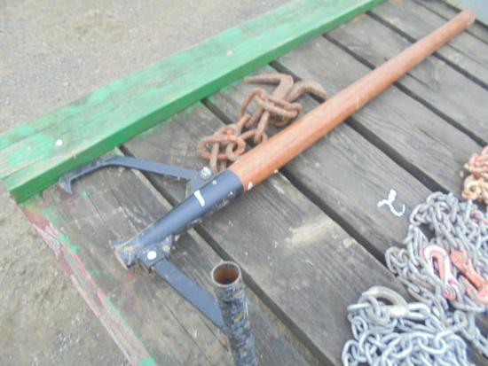 Cant Hook & Log Chain