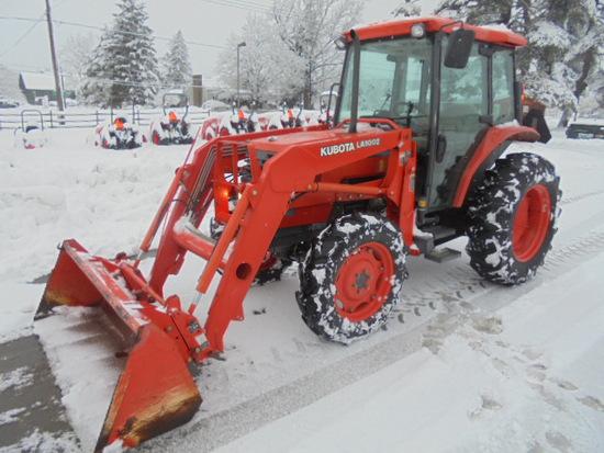 Large Farm & Construction Equipment Auction