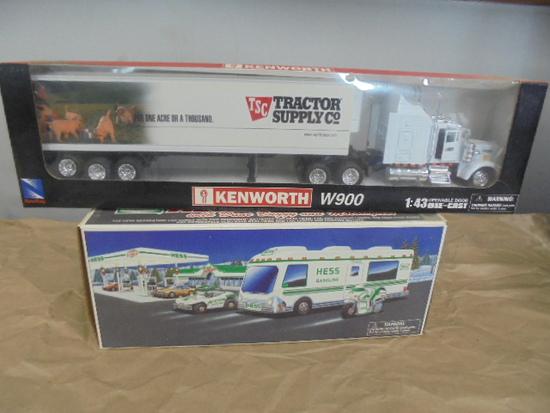 1998 Hess Recreation Van & Tractor Supply Kenworth 1/43