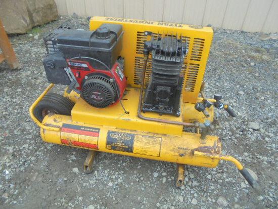 Titan Portable Air Compressor, Gas Powered, Runs