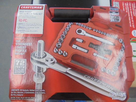 New Craftsman Max Axess 41PC Tool Set