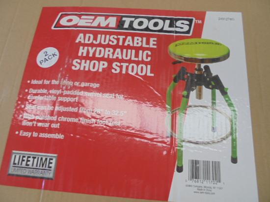 New OEM 2 Piece Adjustable Shop Stool