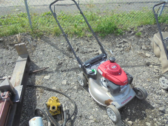 Honda Push Mower, Runs