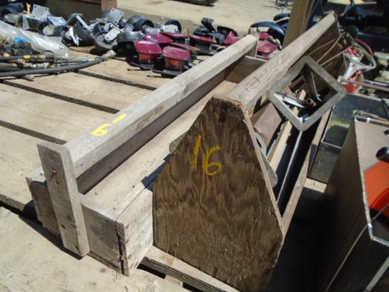 2 Wood Toolboxes