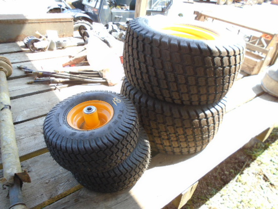 Set Of 4 Cub Cadet Wheels