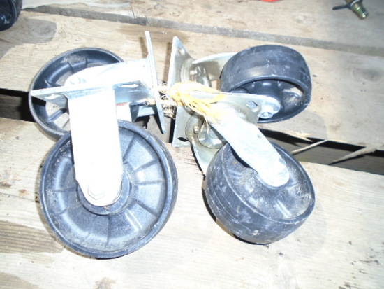 Set Of 4 Caster Wheels