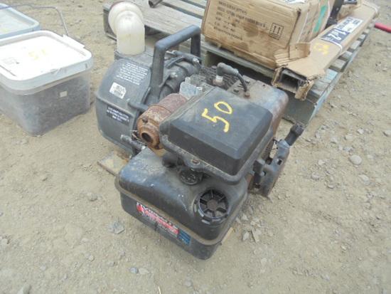 Homelite Pump w/ B&S Engine
