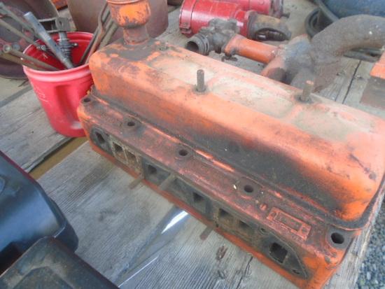Case VAC Cylinder Head & Pushrods