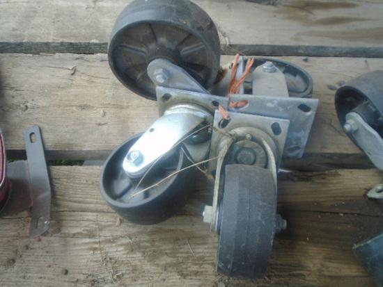 (4) Caster Wheels