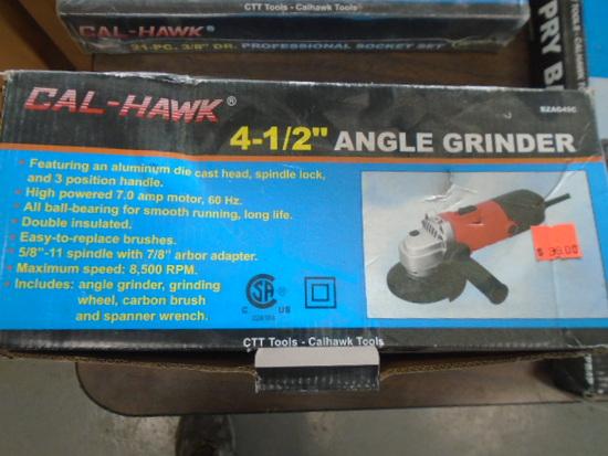 "New Calhawk 4 1/2"" Angle Grinder"