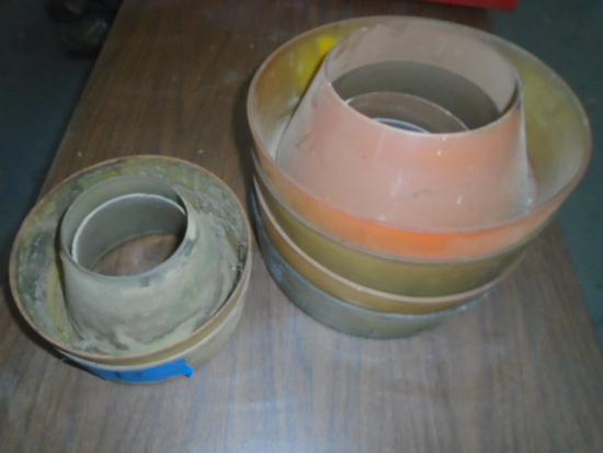 Lot Of Used Air Cleaner Bowls