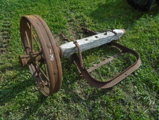 Wagon Axle