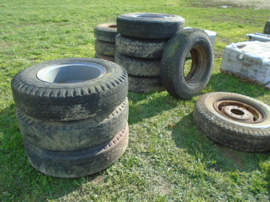 Lot Of Truck Tires, Various Sizes