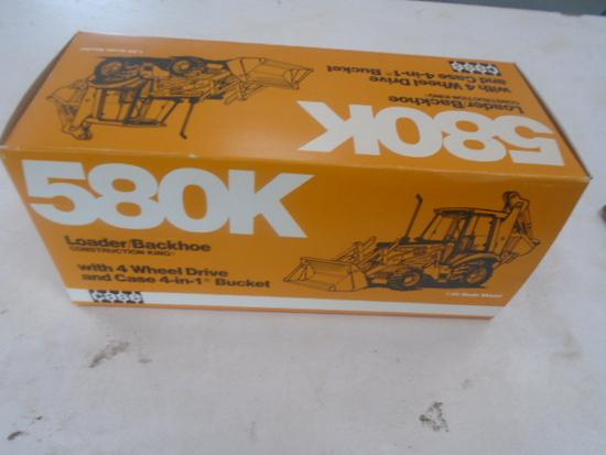 Case 580K Toy NIB, 1/35th Scale