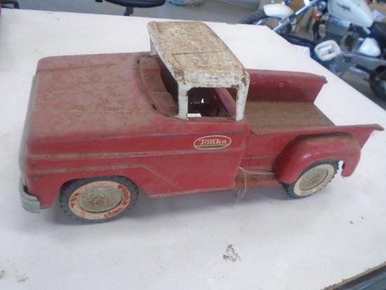 Red Tonka Pickup