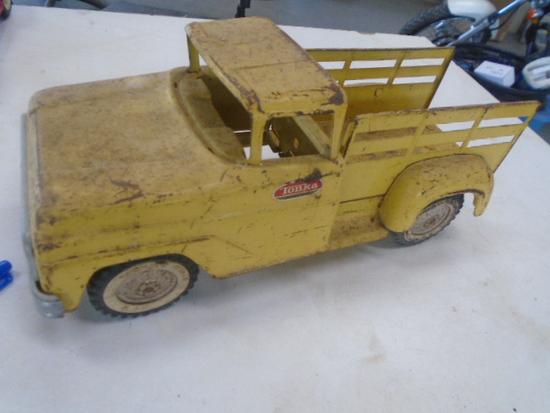 Yellow Tonka Pickup