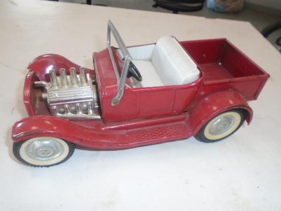 Red Nylint Hotrod Car