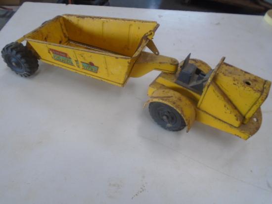 Lumar Earth Hauler, Original Old Tin Toy