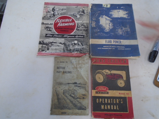 (4) Old Ford Books