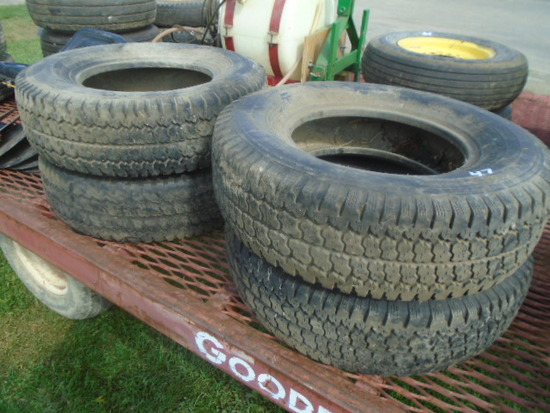 (4) Firestone 245/75R16 Tires