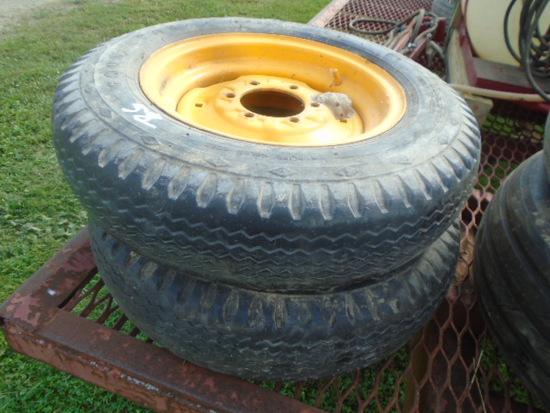 (2) 6.50-16 Tires & Rims