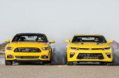 Mustangs vs Camaros