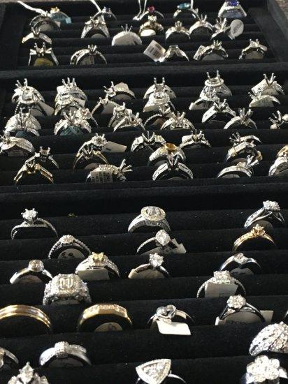Insurance Claim: 83 Diamond Rings