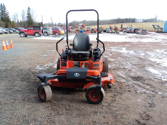 KUBOTA ZD1211-60 ZERO TURN MOWER,
