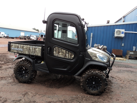 KUBOTA RTV-X1100CR-A UTILITY VEHICLE,