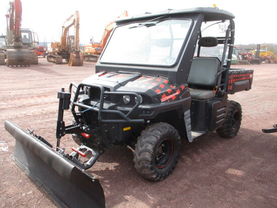 BOBCAT 3400 UTILITY VEHICLE W/PLOW,