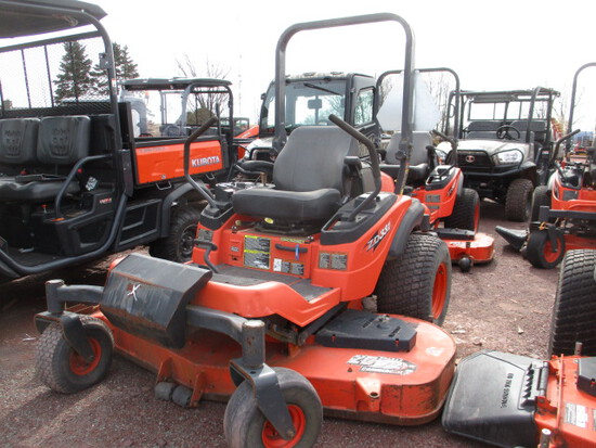 2009 KUBOTA ZD331LP-72 ZERO TURN MOWER,