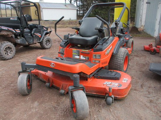 KUBOTA ZG332LP-72 ZERO TURN MOWER,