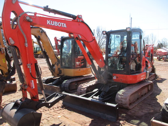 KUBOTA KX05704R3A EXCAVATOR, C/A/H,