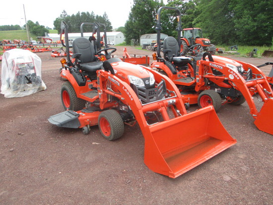 Kubota BX2380TV60 Tractor/Ldr/Mower