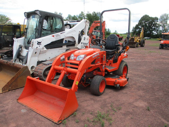 KUBOTA BX2670TV60 TRACTOR/Ldr/Mower