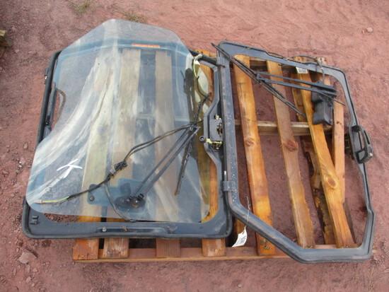 2 Bobcat Skid Steer door frames