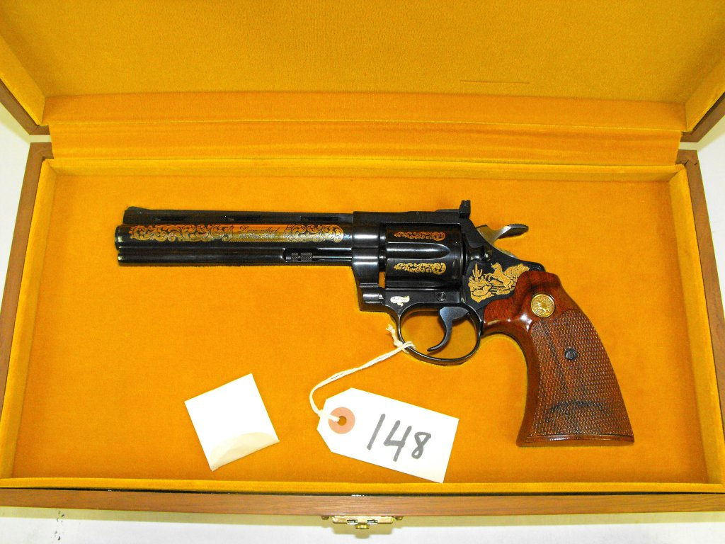 COLT DIAMONDBACK SPECIAL EDITION (1 OF 500) 22 LR. 6-SHOT DOUBLE ACTION REVOLVER