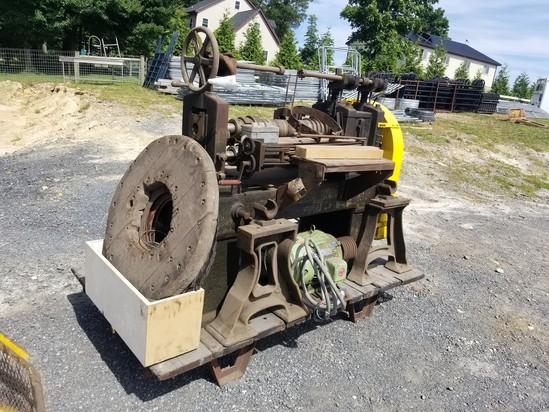 The Blake & Johnson Co. Waterbury Conn. machine