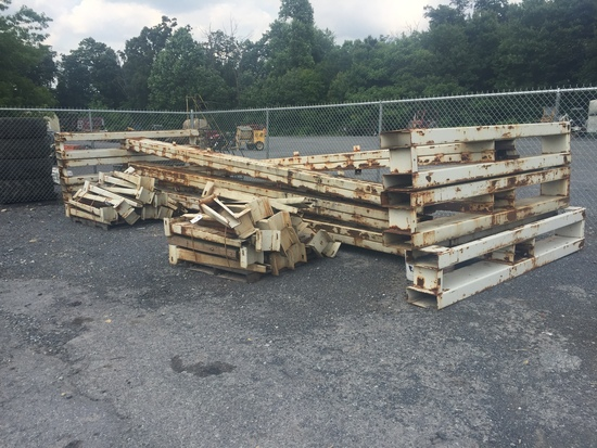 Lot of Cantilever Lumber Racks