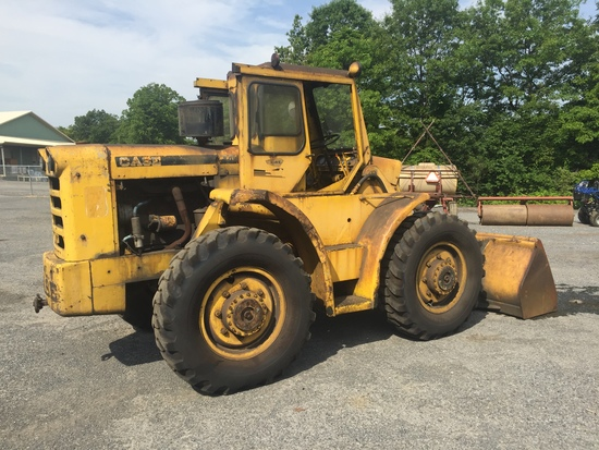 Case W70 4x4 Wheel Loader w/4 Cylinder Case Diesel