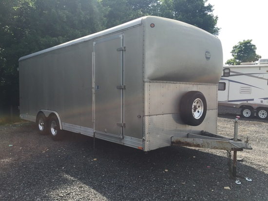 2006 8'x22' Wells Cargo Box Trailer