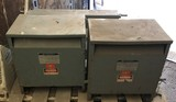 Two (2) Square D 3-Phase Insulated Transformers