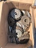 Box of cutting wheels