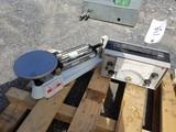 O Haus triple beam balance scale & thickness indicator
