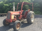 International 674 2 wheel drive farm tractor