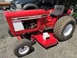 International 184 tractor w/ mower deck