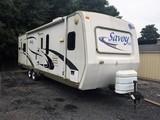 2008 Savory LX Holiday Rambler 32' Camper