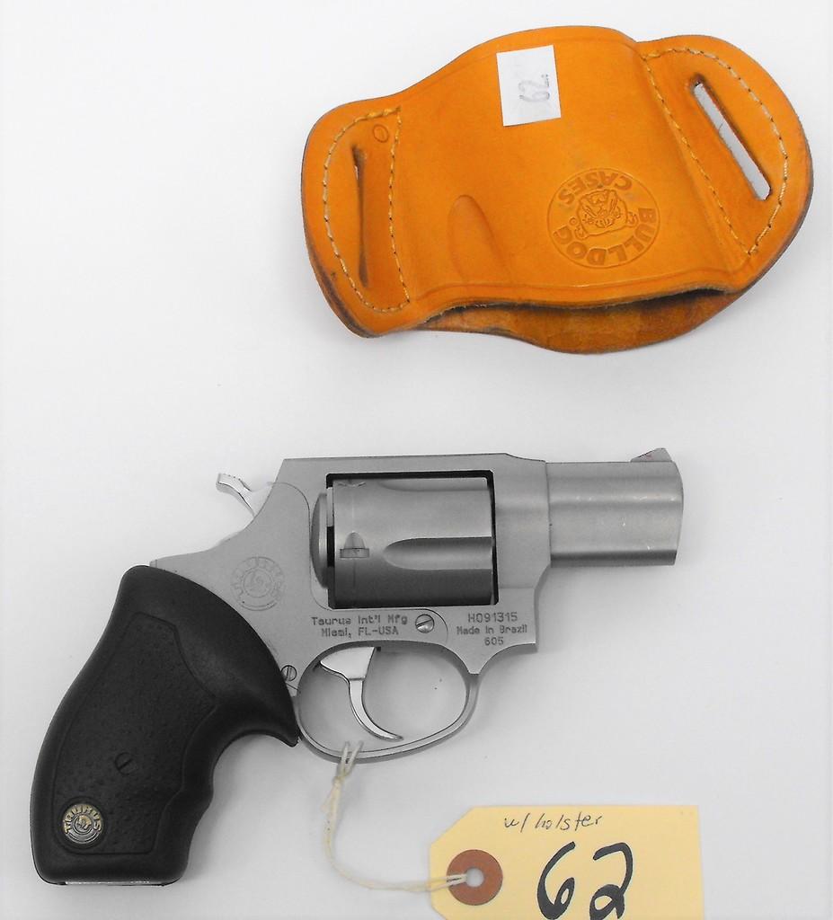Lot: (R) TAURUS 605 357 MAG REVOLVER | Proxibid Auctions