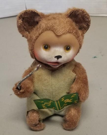Vintage Musical Bear Wind-Up